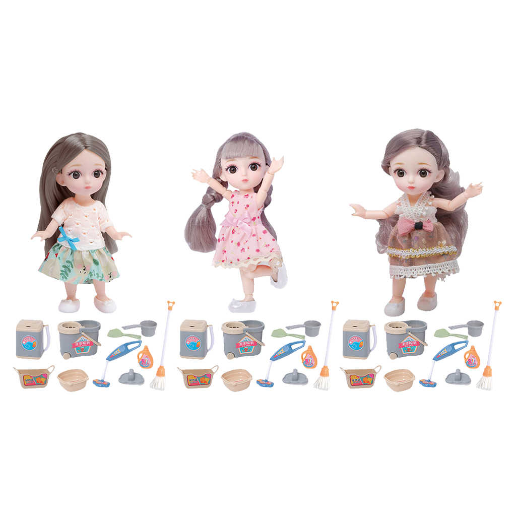 16cm 1//12 Girl Doll Clothes Shoes BJD Party Matching DIY Dress up Accessory