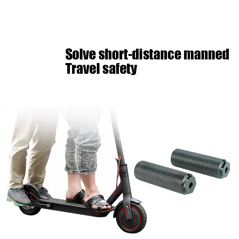 M365 Scooter Anti-slip Back Pedal Replacement For Electric Scooters Manned Foot Pedal Accessories  FDX99