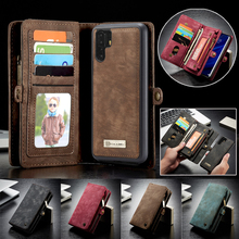 Luxury Business Leather Purse Case For Huawei