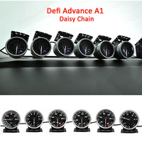 Defi Advance A1 Defi Link System Daisy Chain 6 gauges Volt Water Temp Oil Temp Oil Press Tachometer RPM Turbo