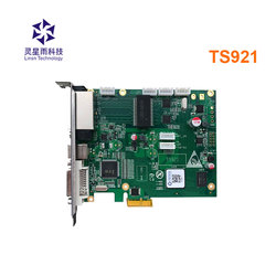 ts921 Linsn sender TS921 led sending card supports 4K video source input support all receiving card work with concert led screen