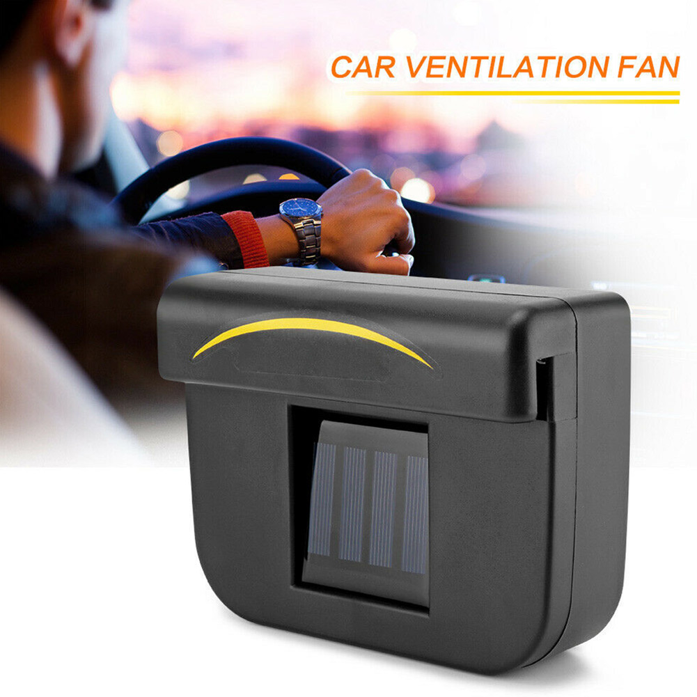 Eco-Friendly Solar Power Air Conditioner for Car Vent Cars Cooling Exhaust Fan