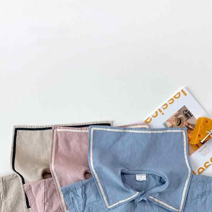 2020 noworodka zestaw ubranek dla dziewczynki letnie dziewczyny słodkie z krótkim rękawem topy + spodenki Bloomers spodnie stroje 2 sztuk bawełna zestaw dla dzieci