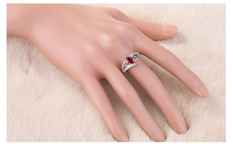 ring 925 silver jewelry for women x6