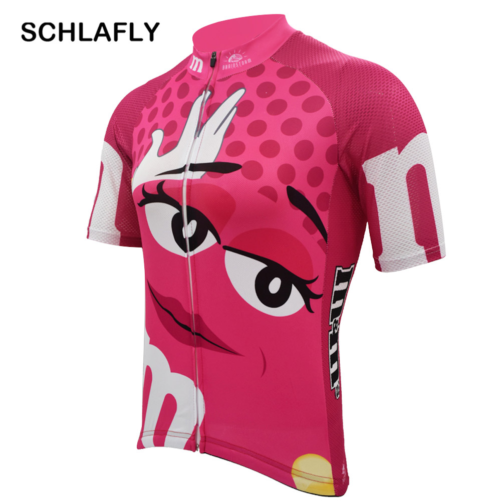 Big Sale Woman pink funny cycling jersey summer breathable quick dry anti-shrink short sleeve bike wear jersey road jersey cycling cloth 4000171784076