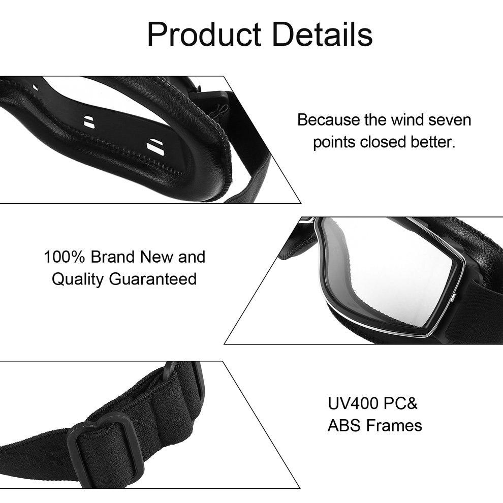 Lunettes de moto lunettes de vélo UV lunettes de protection extérieures anti-poussière protection Combat extérieur lunettes tactiques