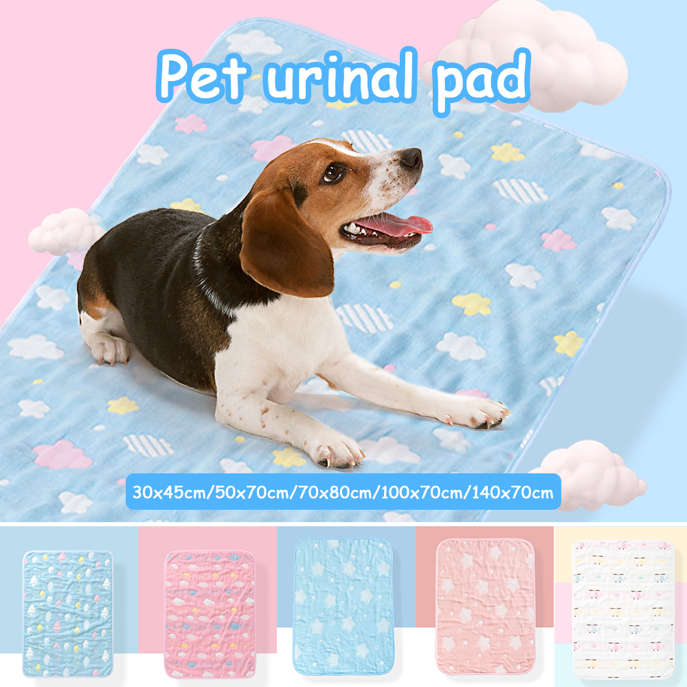 Washable Pet Puppy Training Mat Reusable Pee Pads For Dog Cat Whelping Pads Bed Sofa Mattress Protector Cover Pet Supplies