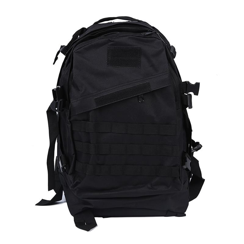 Military Tactical Backpack Backpack Camping Trip Hiking Bag 40L Black