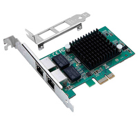 For Intel 82575EB Stable Network Card Replacement Server Accessories PCI Express 1000Mbps Gigabit Internal Dual Port Ethernet