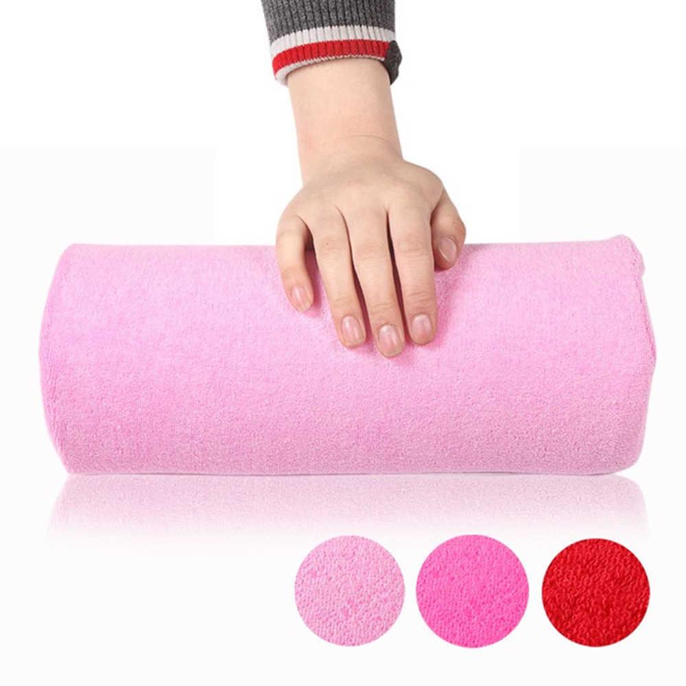 1 шт. розовые мягкие подставки для рук моющаяся ручная накидка для диванной подушки держатель подушки подлокотники декор для ногтей Маникюрные подставки для рук Подушка