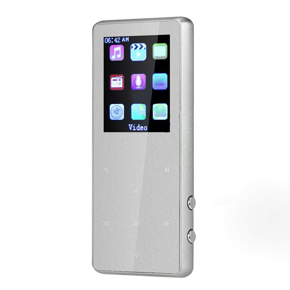 1.8 inch K1 Touch Metal External Release Portable <font><b>MP3</b></font> Music <font><b>Player</b></font> With FM Hi-Fi Lossless Support Up to 128GB image