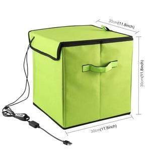Image 2 - Puluz uv ライトボックス短波 uvc 殺菌殺菌消毒ポータブル折りたたみテントボックス 30 センチメートル * 30 センチメートル