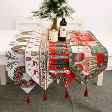 Рождественские украшения Вязаная скатерть для стола креативная