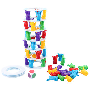 Image 3 - Tower Collapse Desktop Game Balance Toy Challenge Tower Stacked Parent Child Interactive Board Game Intelligence Toys For Kids