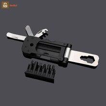 Youpin NexTool wielofunkcyjne narzędzie rowerowe Pocket Bike Toolbox zewnętrzny klucz do naprawy magnetycznego rękawa