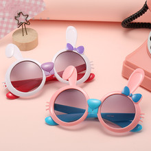 2021 New Fashion Kids Sunglasses Cute Baby Plastic Children Sun Glasses Boys and Girls Cartoon Classic Eyeglasses Uv400