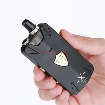 Kit de système Thunderhead Tauren X Pod 100% authentique, vaporisateur rechargeable 1000mAh 2ml 25W RBA Pod System vape pen kits