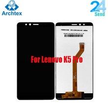 5,99 дюймов для Lenovo K5 Pro L38041 ЖК-дисплей и сенсорный экран дигитайзер сборка Замена протестирована