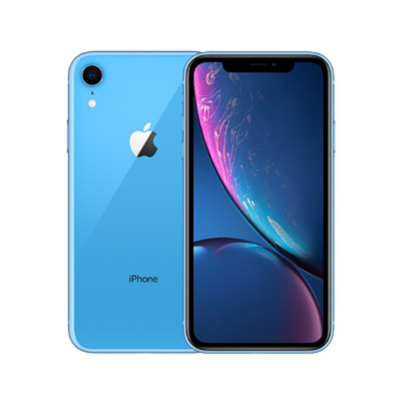 Used Original iPhone XR 6.1inch Smartphones Face Unlocked 3+64/128/256GB Cellphones 7+12MP 1 SIM Card Mobile Phone