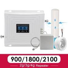 Antenne extérieure omnidirectionnelle 900 1800 2100 MHz répéteur de Signal GSM bande 8DCS LTE (bande 3) WCDMA (bande 1) amplificateur de téléphone portable 70