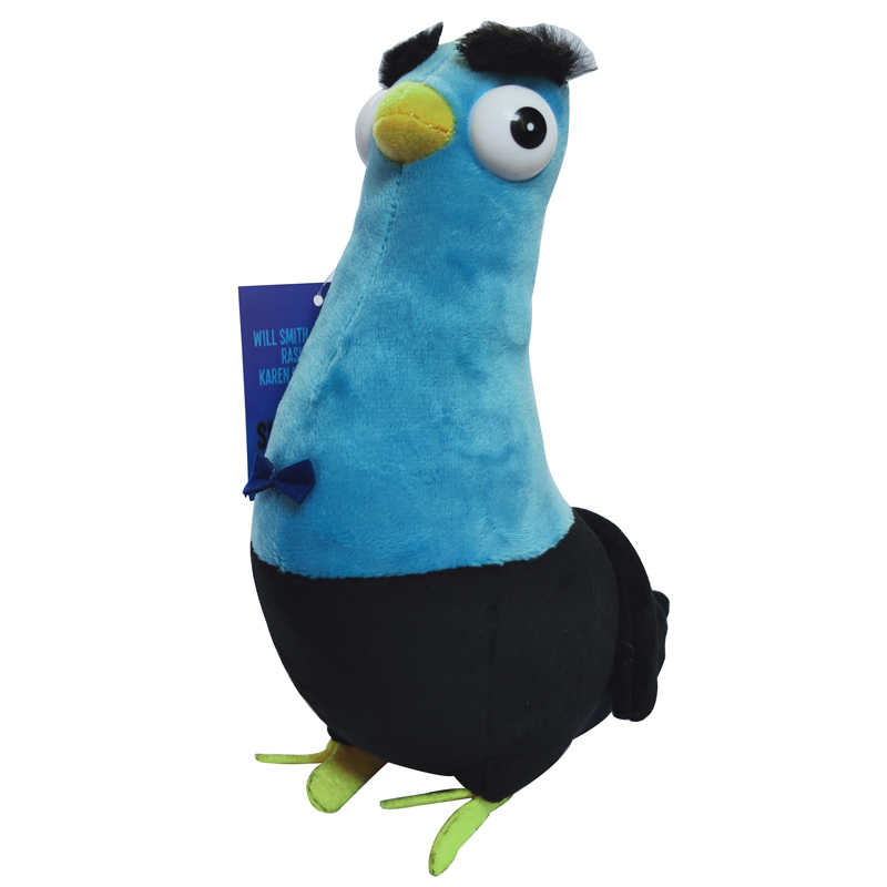 1pcs 20cm Movie Spies In Disguise Plush Toy Cartoon Pigeons Birds Soft Stuffed Doll Toys Christmas Birthday Children Gifts