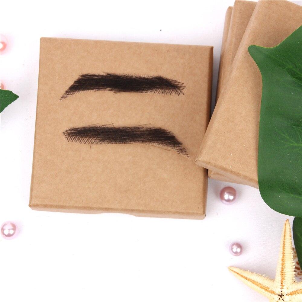 humano trabalhadores cabelo trançado sobrancelha perucas