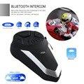 1000M Motorrad Helm Drahtlose Bluetooth Intercom BT Sprech Motorrad FM Headset Tragbare Mini Sprech BT-S3 Helm