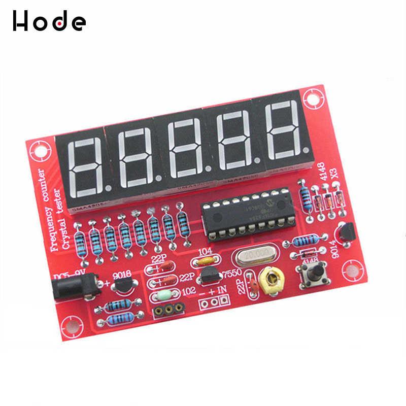 Diy Kits Rf 1Hz-50 Mhz Kristal Oscillator Frequentie Counter Meter Digitale Led Tester Meter Frequentie Meter Digitale