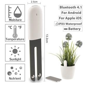 Image 3 - オリジナルの国際バージョンyoupin hhccフローラモニターデジタル植物草の花ケア土壌水分テスターセンサー植物detecto