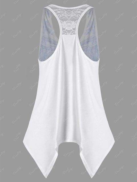 Women's Sexy Sleeveless  T Shirt, Sizes S to 5XL