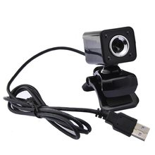 USB 2.0 4 LED Webcam Kamera Web Cam dengan Mikrofon untuk Laptop PC Komputer Baru(China)