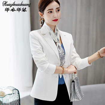 women Suit The new career female 2020 autumn Office Work Uniform Business Jacket singleton Blazer Autumn Winter image