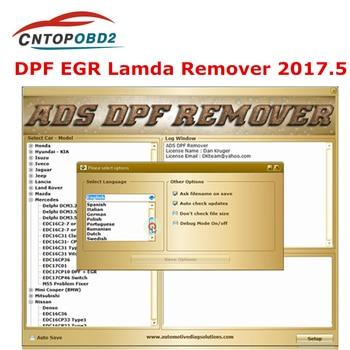Professional For KESS V2  KTAG Master MPPS DPF EGR Remover 3.0 Lambda Remover Full 2017.5 Version Software + Unlock keygen 1