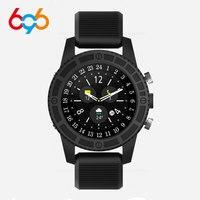 696 i7 4 Círculo Quadro De Carbono 4GLTE Android 7.0 Suporte de Rede Wi fi Hotspot Bluetooth relógio Inteligente pk apple watch|Relógios inteligentes| |  -