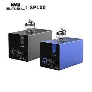 Image 2 - SMSL SP100 Ống Tai Nghe Khuếch Đại 6N3 Ống Mạnh Hi End Stereo Amp Âm Thanh HIFI âm lượng Đầu Ra điều khiển