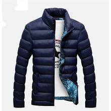 К 2020 году новые зимние куртки куртка мужчины осень зима теплая бренд пиджаки Мужские пальто свободного покроя ватные куртки мужчины M-размер 6XL