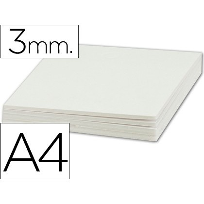 PEN CARTON LIDERPAPEL DOUBLE FACE DIN A4 THICKNESS 3 MM 10 Units
