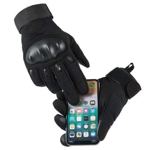 Luvas de Dedo Duráveis para Homem ao ar Antiderrapante para Escalada Completo Livre Fitness Equitação