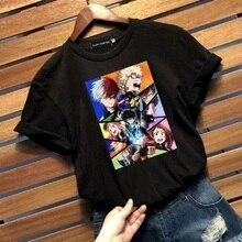 My Hero Academia Tees Women Anime Printed Tshirt Female Boku No Hero Academia