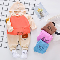 Baby Boy Clothes Autumn New Infant Clothing Sets Fashion Long Sleeve Sweatshirts Sports Pants Baby Girl Outfit Newborn Set