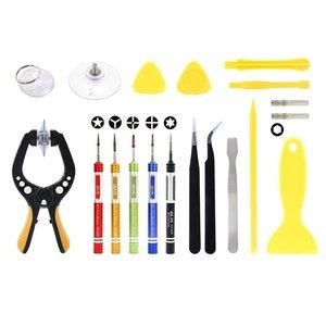 JF-8148 19 in 1 Universal Phone Repair Tool Set with Bag Cell Phone Repair Tool Kits for Phone Repair Tools