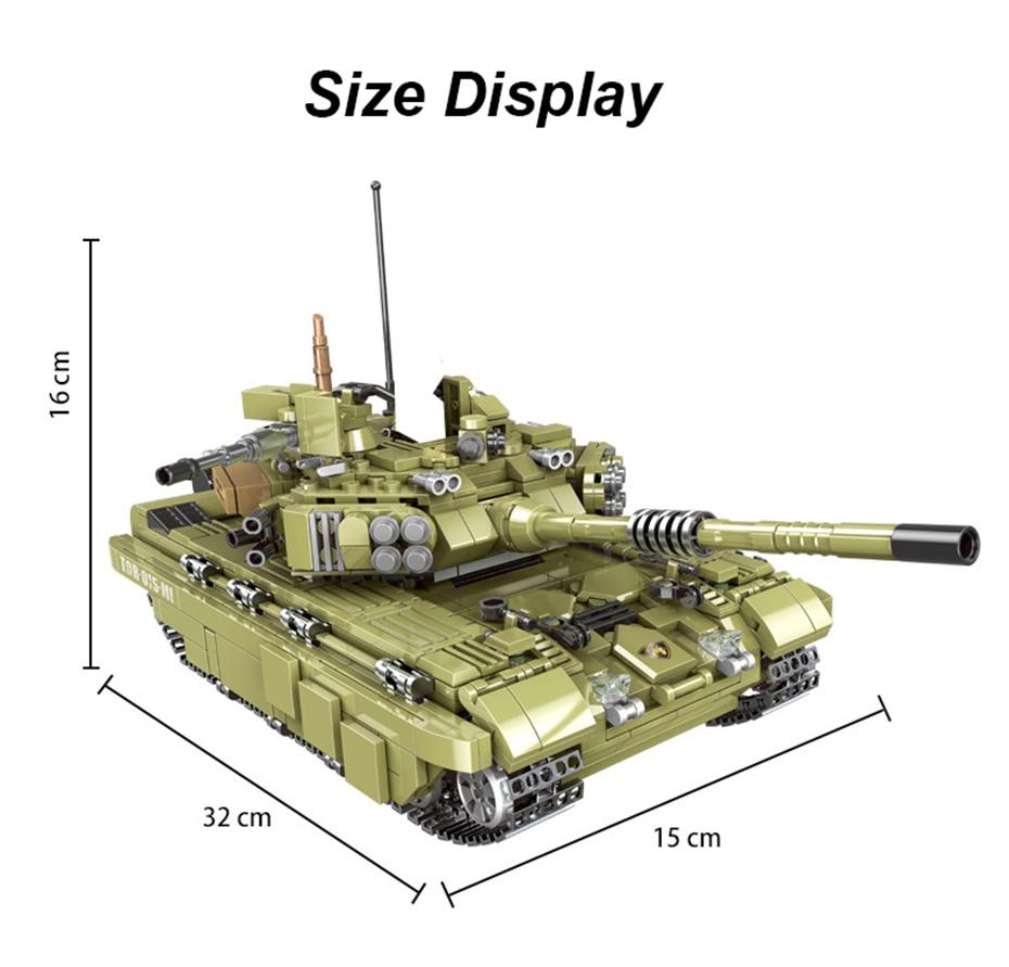 Xingbao 06015 ทหาร Battle WW2 Series 1386Pcs Scopio Tiger Tank ชุด Building Blocks อิฐของเล่นเพื่อการศึกษา boy-ใน บล็อก จาก ของเล่นและงานอดิเรก บน   3