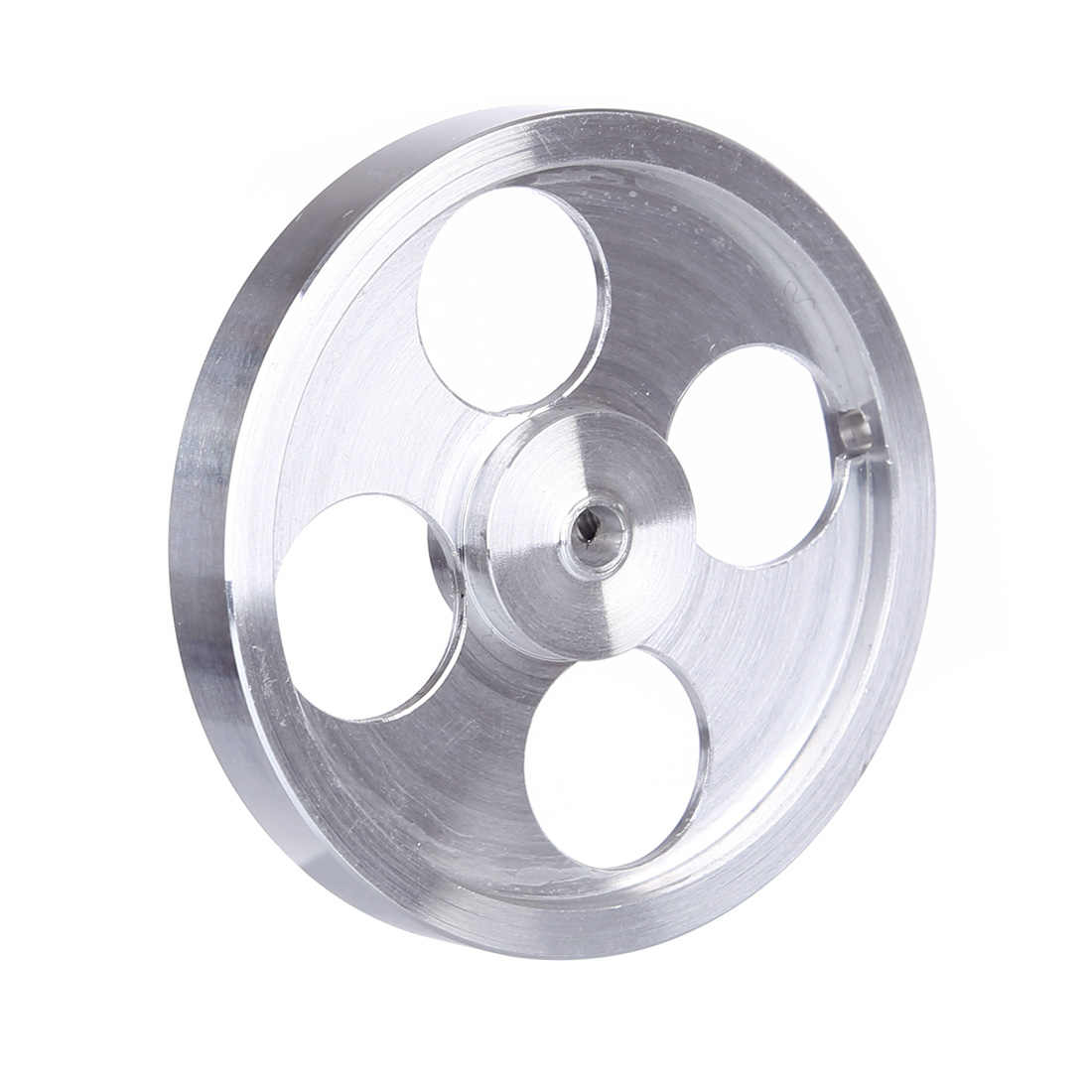 φ55 x 8mm Four-hole Aluminum Flywheel for Stirling Engine Model
