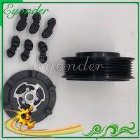 Novo ac a/c compressor de ar condicionado kit embreagem magnética eletromagnética para audi a6 c6 2.0 2.7 3.0 4f0260805p 4f0 260 810g