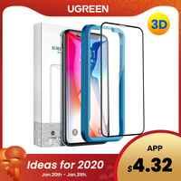 Ugreen per Il Iphone 7 X Xs Vetro di Protezione su Iphone 7 6 Plus Xs Max 11 Pro Max 6 S 8 Più Xr 3D Protectoor Dello Schermo in Vetro Temperato