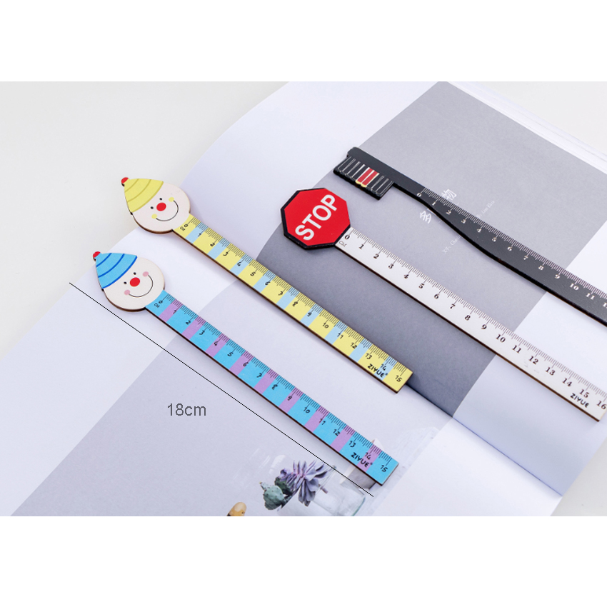 Kids Children Cute Cartoon Animals Ruler 15 cm For Student School Gift Lovely