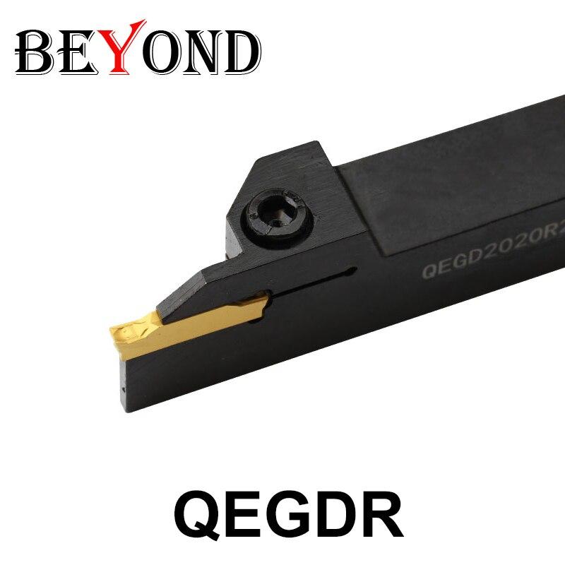 QEGD 2020R22 2525R22 QEGD2020R22 QEGD2525R22 External Parting Grooving Lathe Turning Tool Holder ZTGD0404 MG YBG302 Boring Bar Turning Tool     - title=