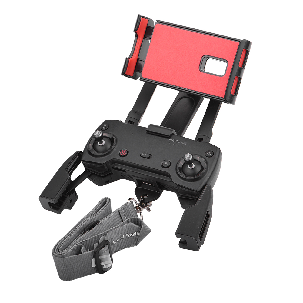 Remote Control Phone Tablet Mount  For DJI Mavic Pro Air Spark Display Monitor Stand Support Holder Drone Lanyard Accessories