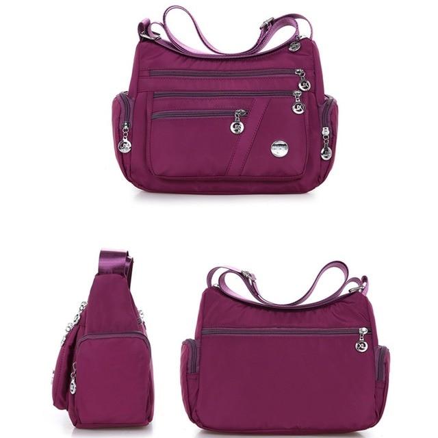 New Casual Crossbody Shoulder Bag Women Bag Nylon Waterproof Messenger Bags For Lady Handbags High Quality Multifunctional 4
