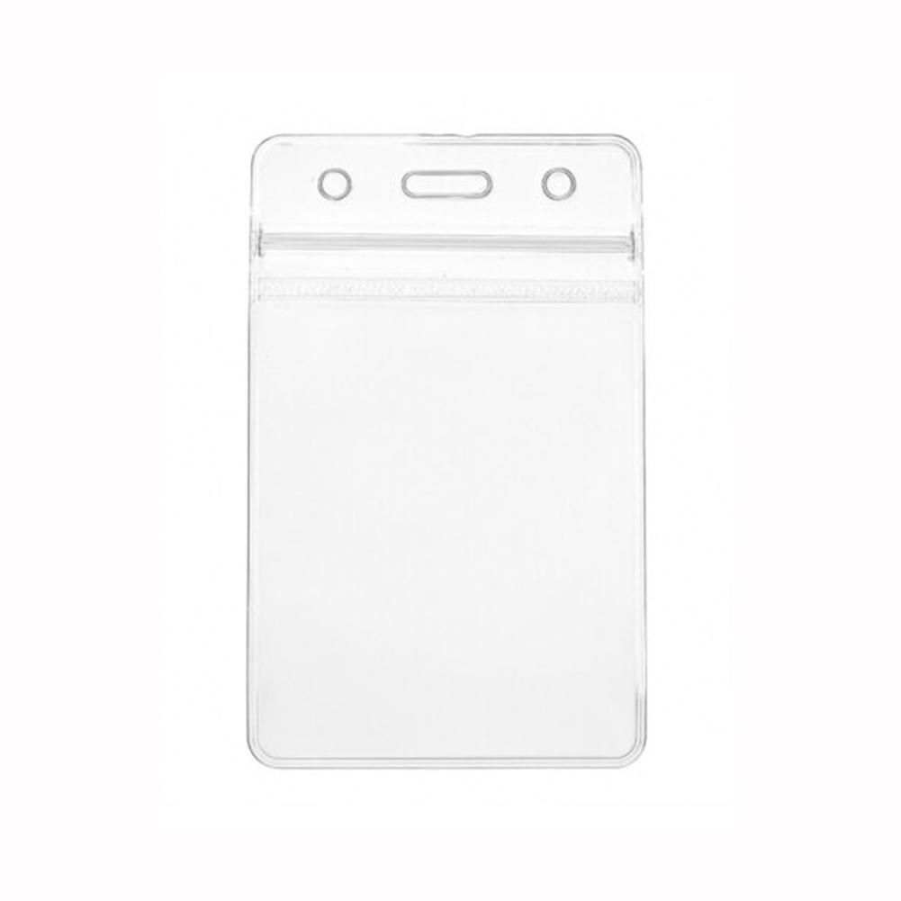 10pcs Soft PVC Transparent Work Card Protector Cover Holder Photocard Card Plastic Cover Work Holder F9X4